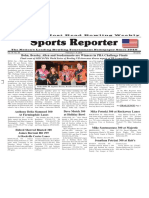 February 3 - 9, 2016 Sports Reporter