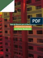 GUÍA DEL USUARIO PARA EL USO RACIONAL Y EFICIENTE DE LA ENERGÍA EN EL SECTOR RESIDENCIAL