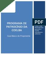 256573_GUIA BÁSICO DO PROPONENTE - COELBA 2016.1
