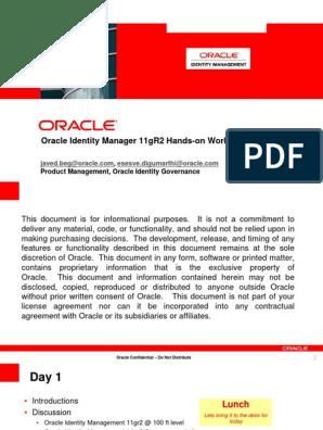IdentityGov_11gR2   Provisioning   Oracle Database