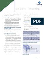 best practice sheet – rendering