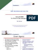 Crown Agents - Dev Useree