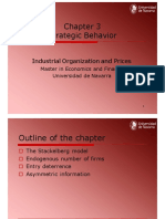 Chapter 3 Strategic Behaviour