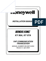 KY 96A-97A VHF Installation Manual