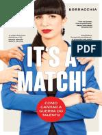 It's a Match! Como Ganhar A Guerra Do Talento (Versão em Português)