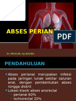 ABSES PERIANAL