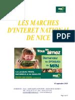 Support Pour Visites Des MIN de Nice