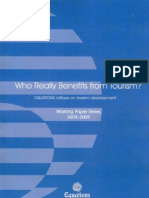 Who Really Benefits From Tourism? - Working Paper Series 2008-09