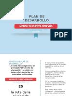 Presentación Corta Plan de Desarrollo - Medellín