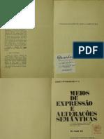 ALI, Said. Meios de Expressão e Alterações Semânticas.PDF
