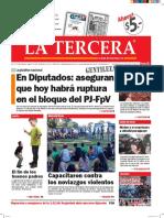 Diario La Tercera 03.02.2016