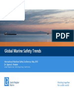 LLoyd's Register Marine - Global Marine Safety Trends