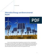 alternative energy article