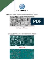 Crown Xls 5000 Audio Yiroshi Pcb