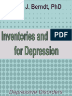 1990-Inventories and Scales for Depression - David j Berndt Phd