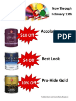 Feb 2016 Guyot Paint Sale