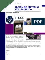 Calibracion de Material Volumetrico Quim