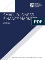 British Business Bank Small Business Finance Markets Report 2015 16