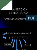 Planeación Estratégica Comunicación Efectiva