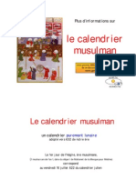 calendrier musulman (www.trouvetamosquee.fr)