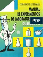 Manual de experimentos de laboratorio para química I y II