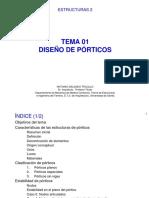 E2 T01 Diseño de Porticos