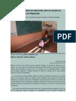 México Gasta Mucho en Educación