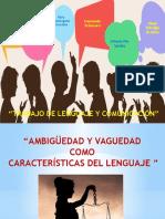 Lenguaje Ambiguedad y Vaguedad