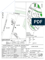 Presentación de un plano de ubicación