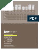 RADIALIGHT Catalogue in English