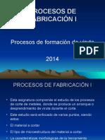 2.- Formación de Viruta 2014