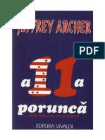 Jeffrey Archer - A 11-A Porunca (v1.0)