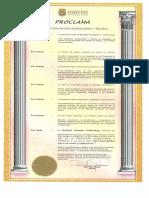 Proclama Mes Ocupaciona 2016 Legal