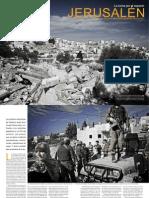 Jerusalén, la lucha por el espacio