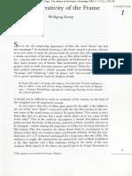 Kemp the Narrativity of the Frame 1996