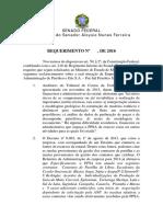 Requimento de informações ao Ministério das Minas e Energia sobre empresa que administra o pré-sal
