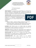 Sistemas de Infromacion Gerencial Informe 2