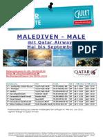 So-Fax MLE  Qatar Frühbucher Special Mai bis September 2010