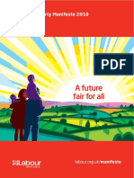 The Labour Party Manifesto 2010