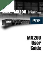 Lexicon Mx200 Eng