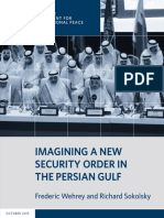 Imagining a New Security Order in the Persian Gulf