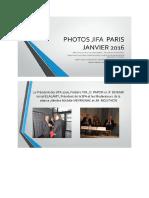 Photos Jifa Paris Janvier 2016.Pptx