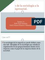 1.3 Aplicación de La Sociología a La Gestión Empresarial