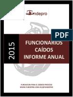 FUNCIONARIOS CAIDOS 2015