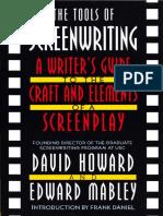 The Tools of Screenwriting