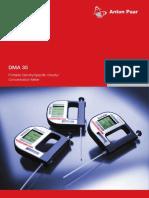 Densimetro Digital Portatil DMA 35