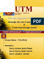 HCI Redesign
