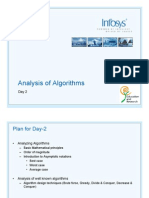 Analysis of algarorithms, day 2