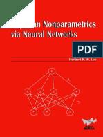 Bayesian Nonparametrics via Neural Networks_Herbert K. H. Lee (SIAM 2004 106s)