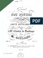 Giuliani - op 067, GrandPotpourri, ch + ch